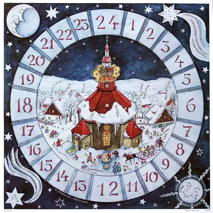 Advent-calendar-dominik-wunderlin-1966-munich-germany