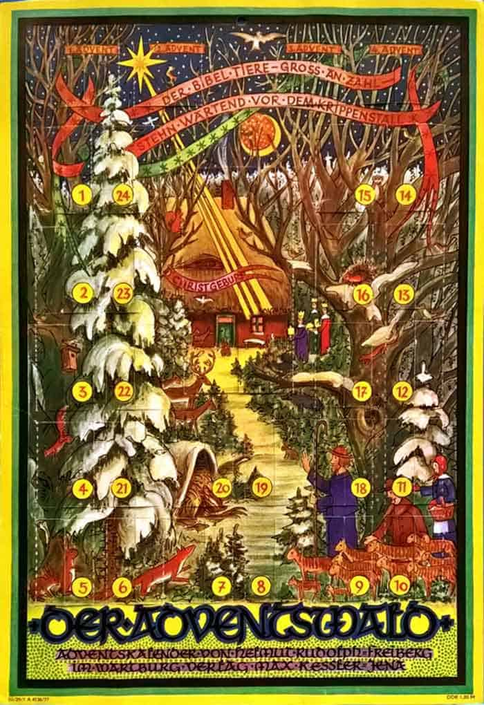 Advent-calendar-forest-published-1977-germany