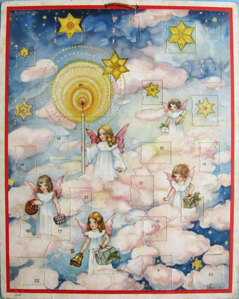 Advent-calendar-hannes-petersen-published-1930s-leipzig-germany