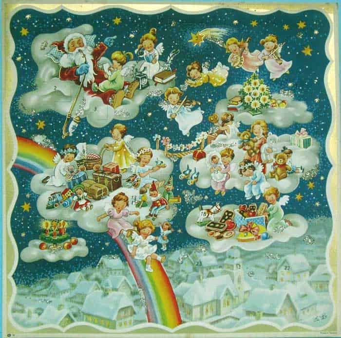 Advent-calendar-rainbow-slide-munich-germany-yule