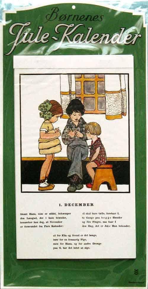 Yule-calendar-børnenes-jule-kalender-aage-germann-hedvis-colling-1930-denmark