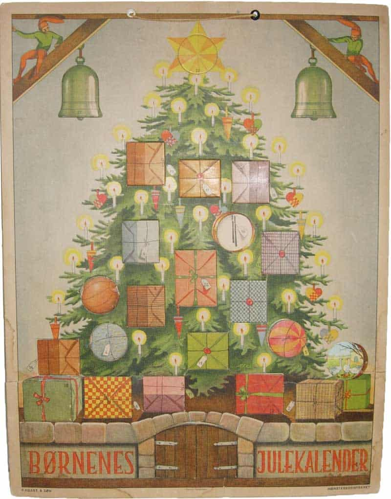 Yule-calendar-børnenes-julekalender-ejnar-vindfeldt-1930-denmark