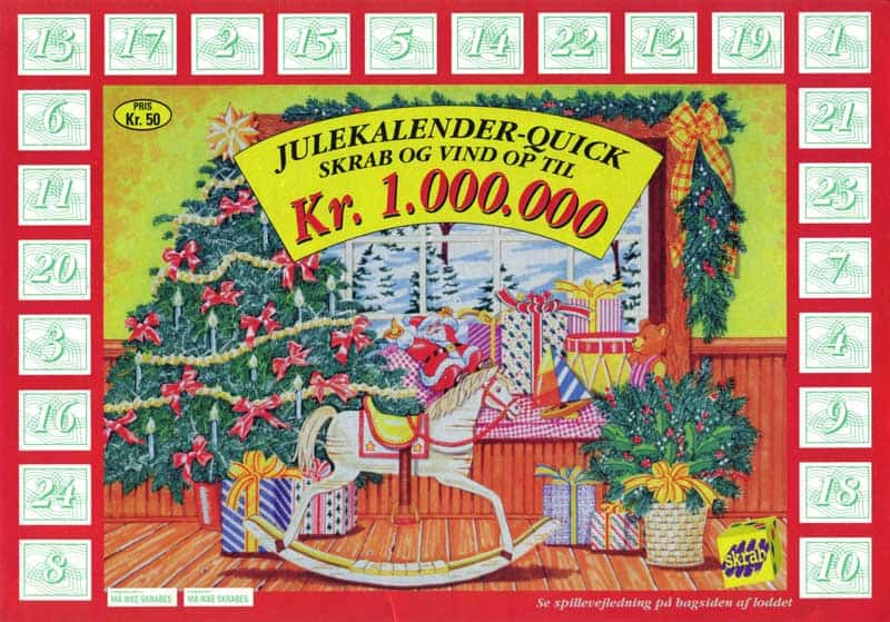 Yule-calendar-dansk-tips-tjeneste-1994-denmark